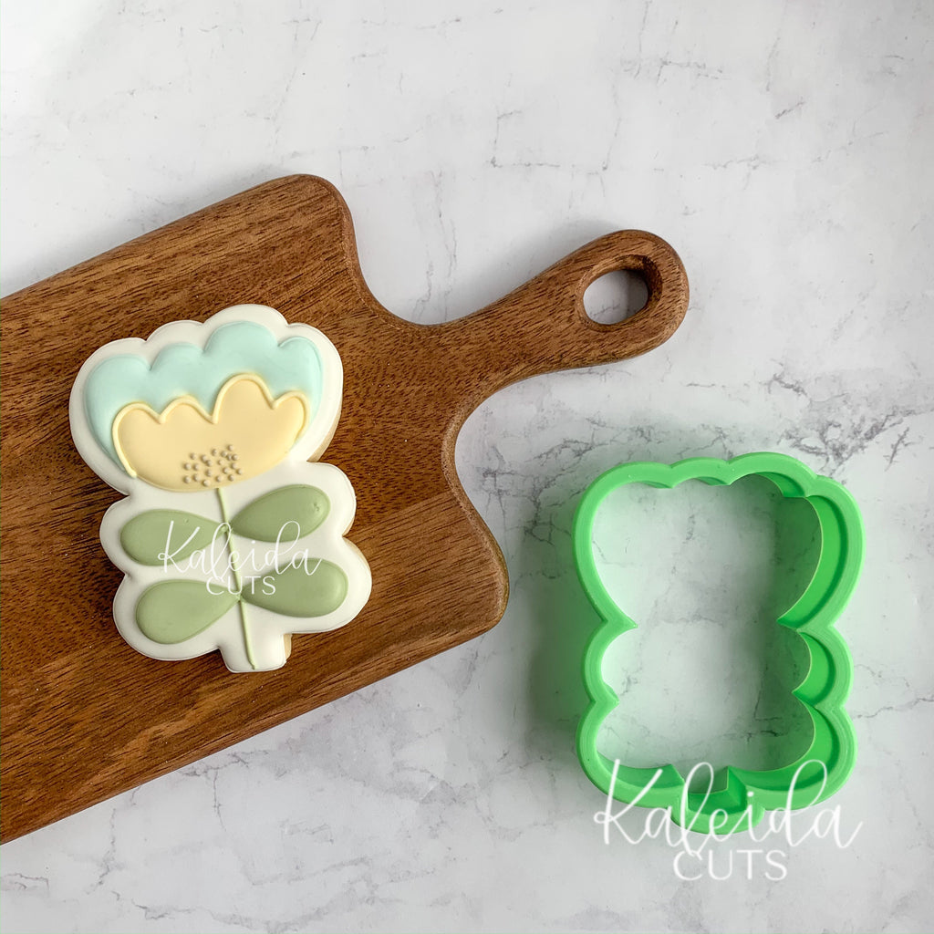 Tall Funky Flower Cookie Cutter