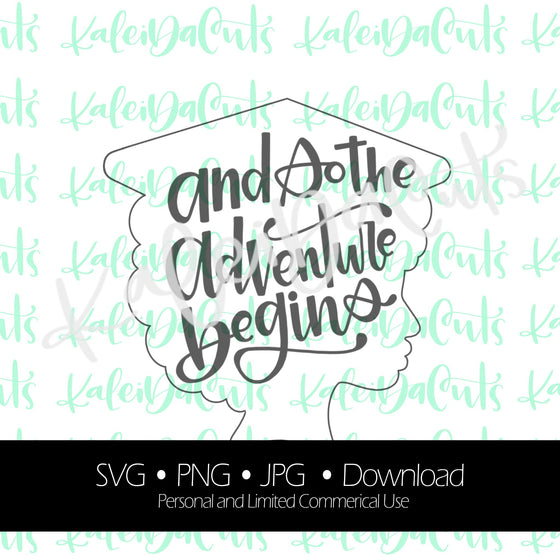 Grad Gal 2 Lettering Digital Download.