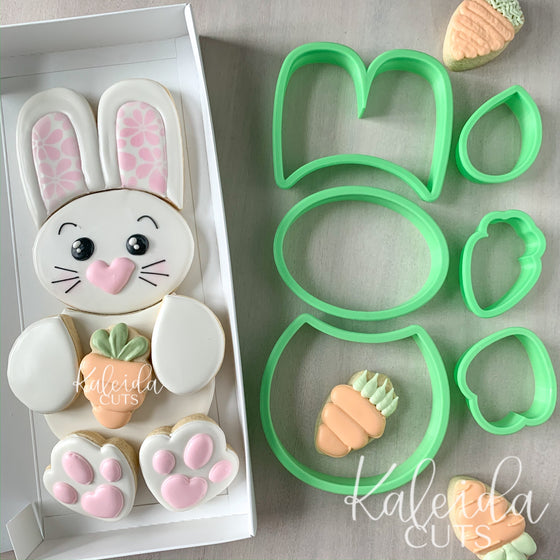 Build a Bunny Set of 6 Cookie Cutters