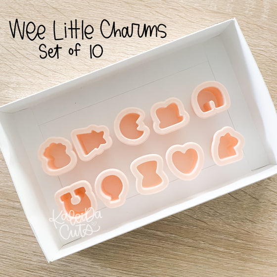 Wee Little Charm Cookie Cutter Set of 10
