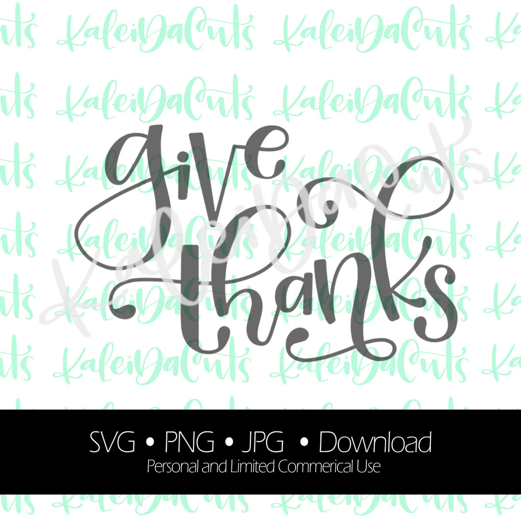 Give Thanks Digital Download