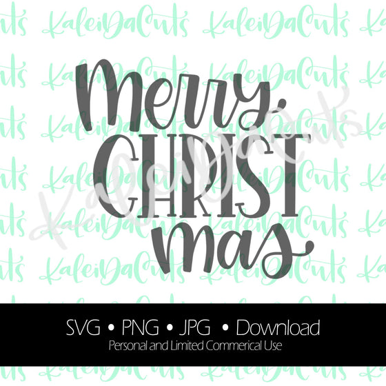 Merry Christ Mas Digital Download.