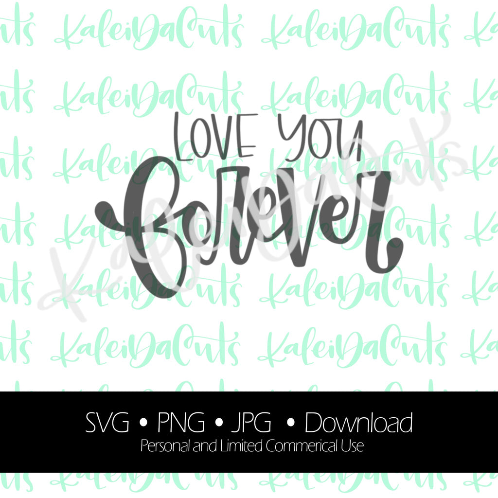 Love You Forever Digital Download. SVG.