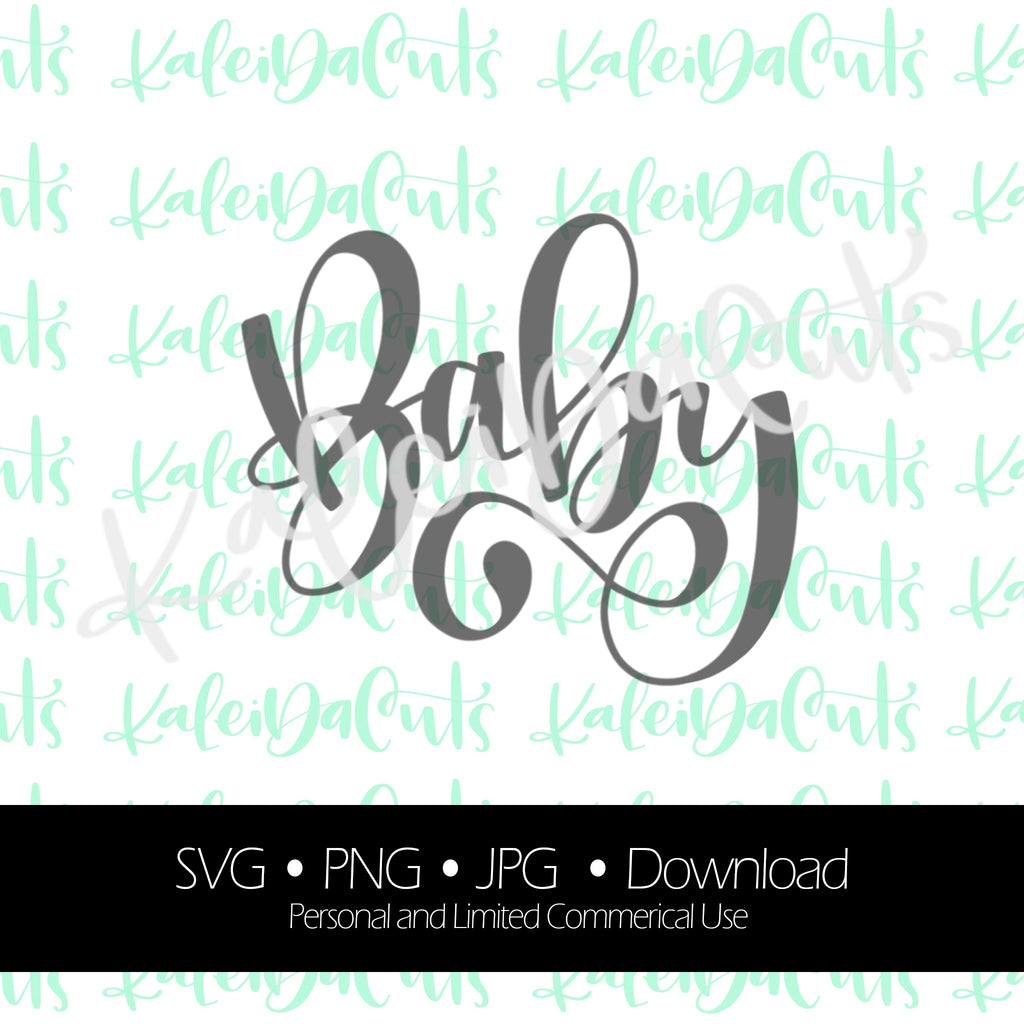 Baby 2 Handlettering Digital Download.