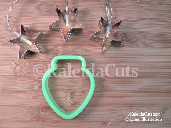 Christmas Light Bulb Cookie Cutter