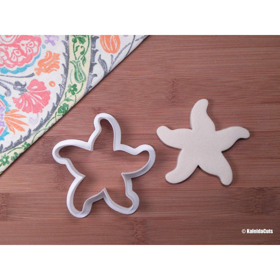 Starfish Seashell Cookie Cutter