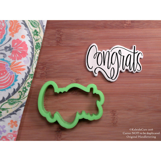 Congrats Cookie Cutter