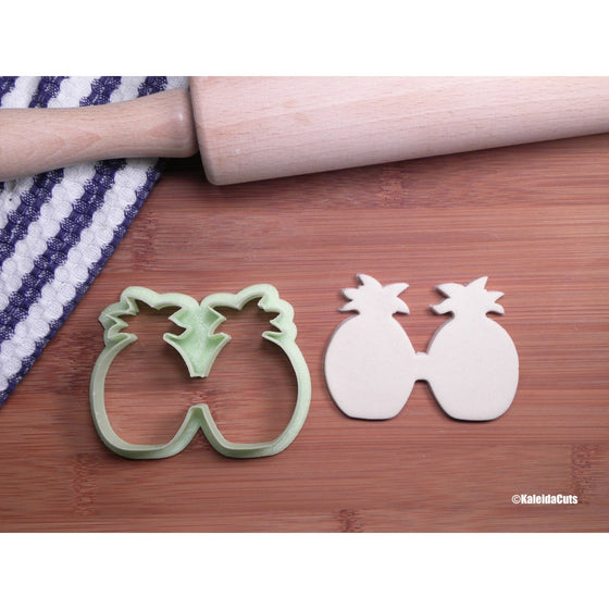Pineapple Sunglasses Cookie Cutter