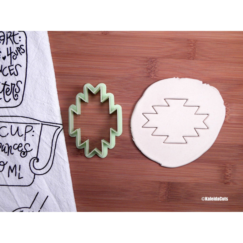 Bohemian Plaque Cookie Cutter