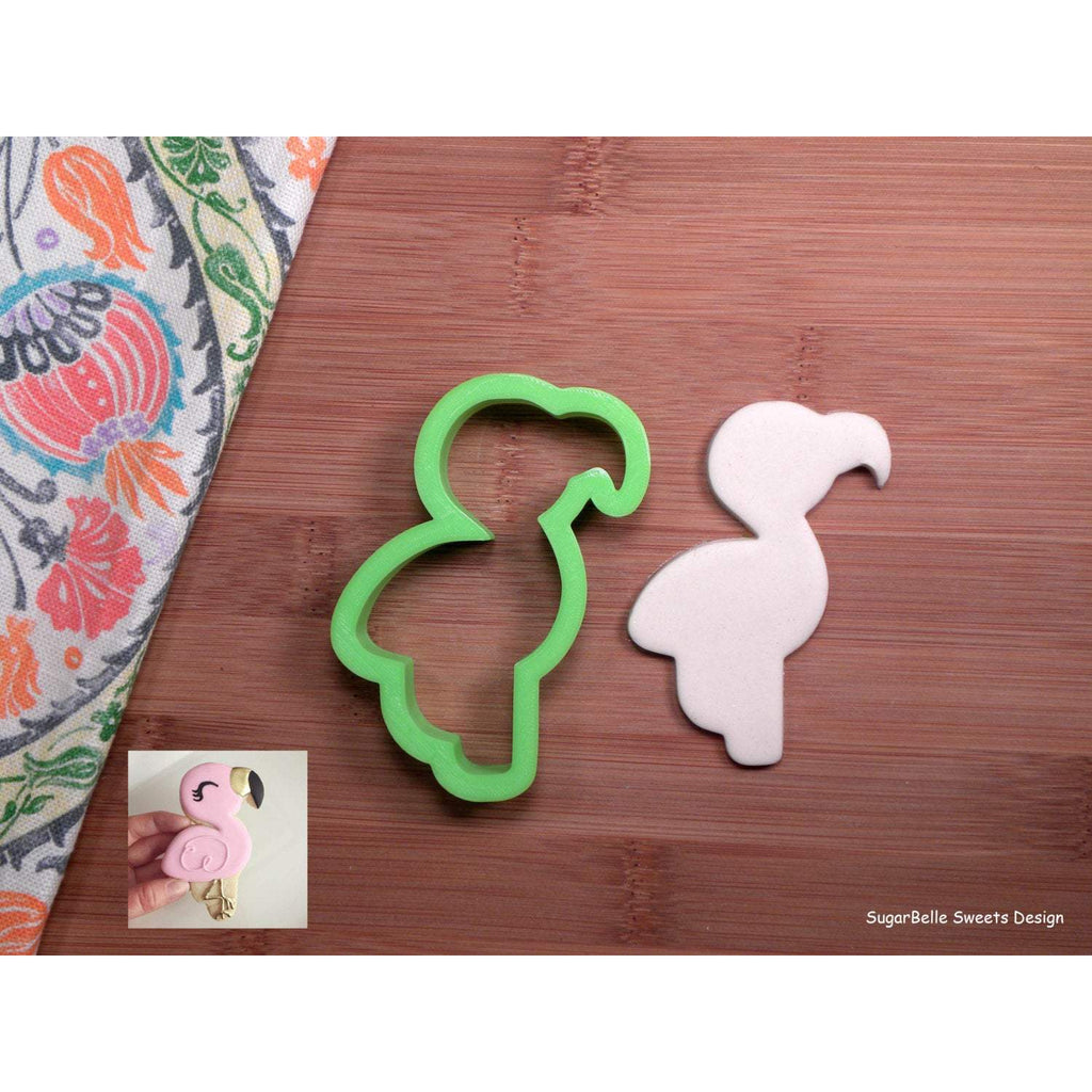 Sugarbelle Sweets Flamingo Cookie Cutter