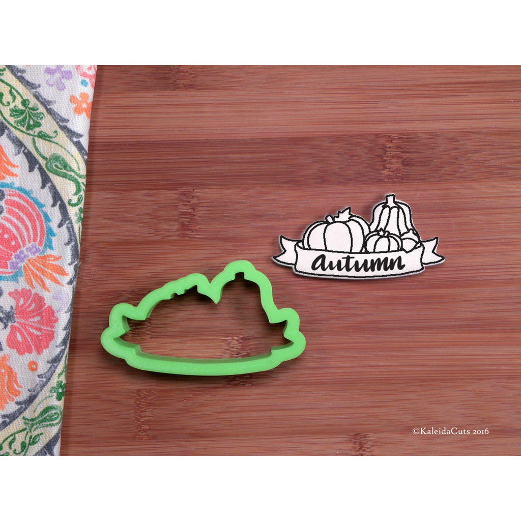 Autumn Banner Cookie Cutter
