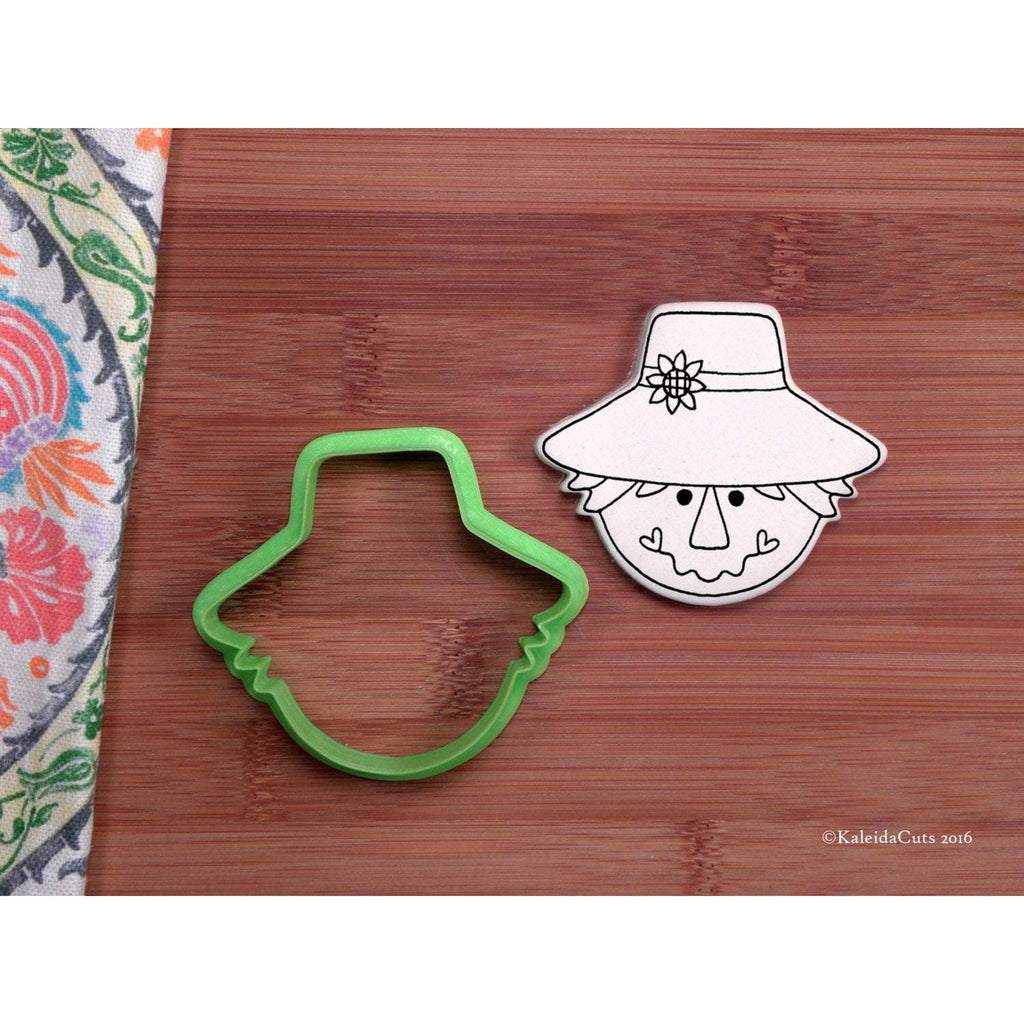 Scarecrow Head Cookie Cutter
