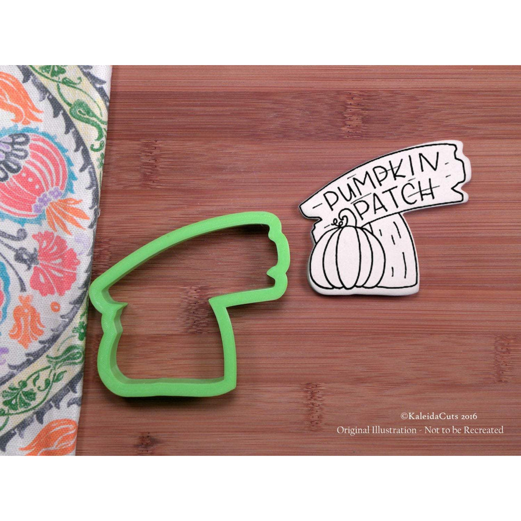 Pumpkin Patch Sign Cookie Cutter