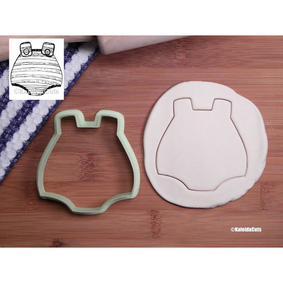 Boy Romper Cookie Cutter