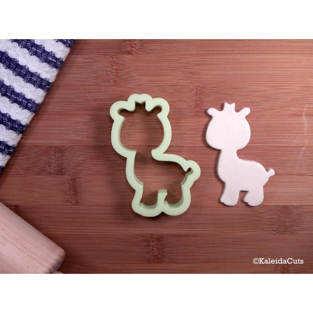 Baby Giraffe 2 Cookie Cutter