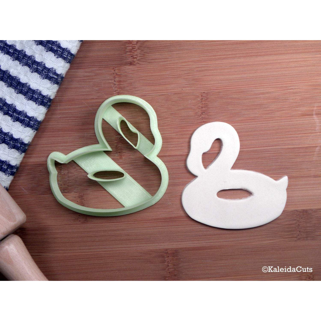 Flamingo Pool Float Cookie Cutter