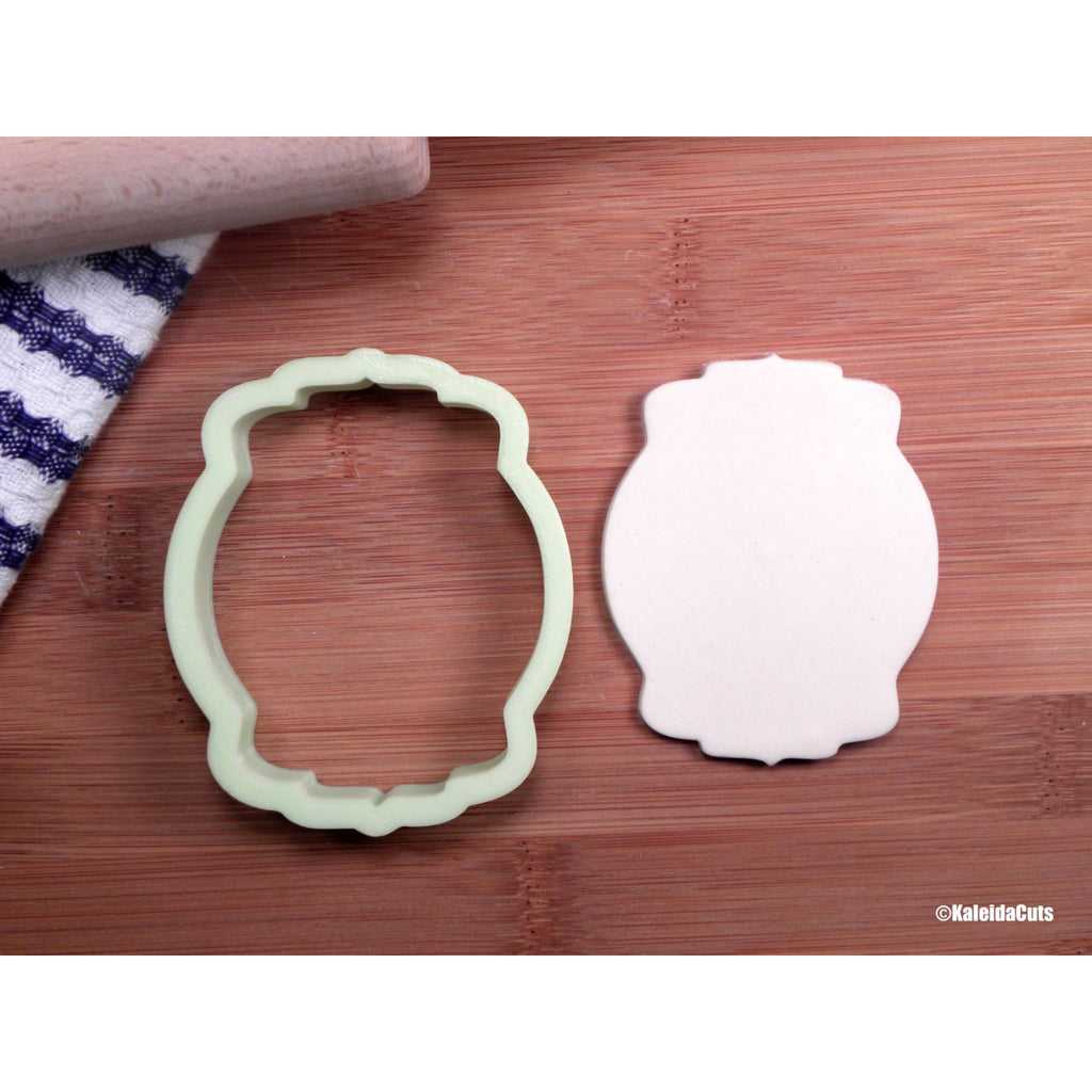 Claire Plaque Cookie Cutter