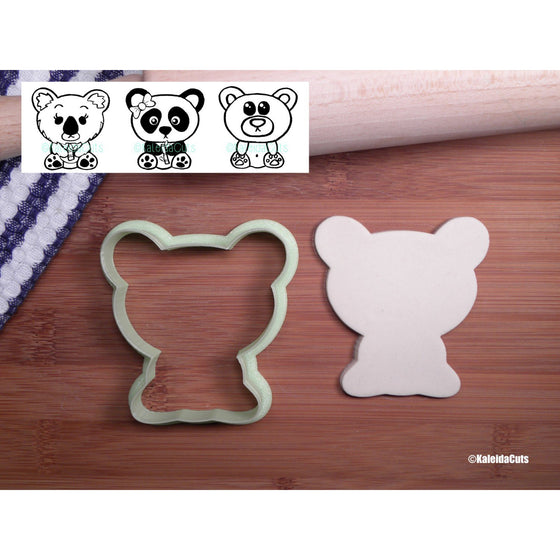 Sitting Bear Cookie Cutter