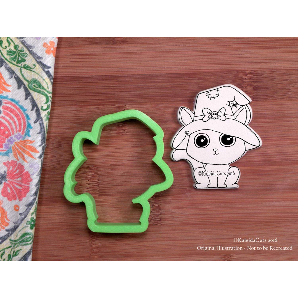 Witchy Kitty Cookie Cutter