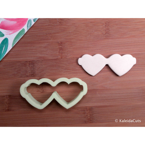 Heart Sunglasses Cookie Cutter