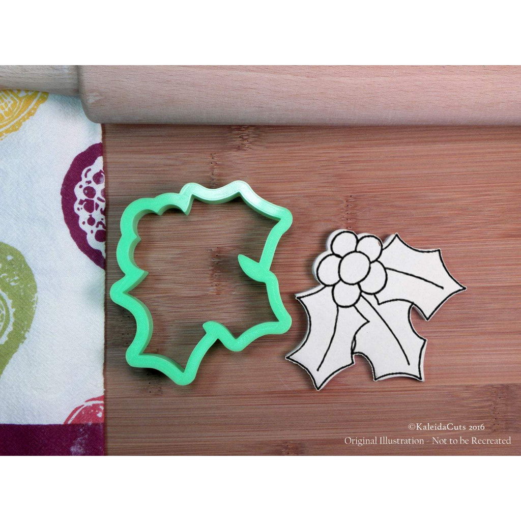 Holly Leaves Cookie Cutter