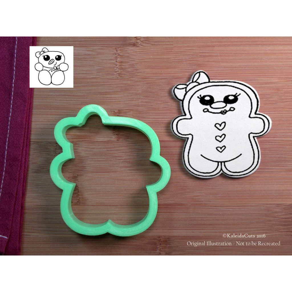 Chubby Gingergirl Cookie Cutter