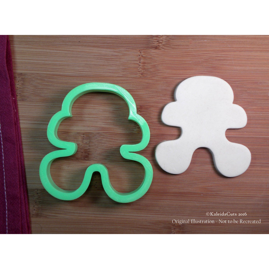 Whimsy Gingerbread Man Cookie Cutter