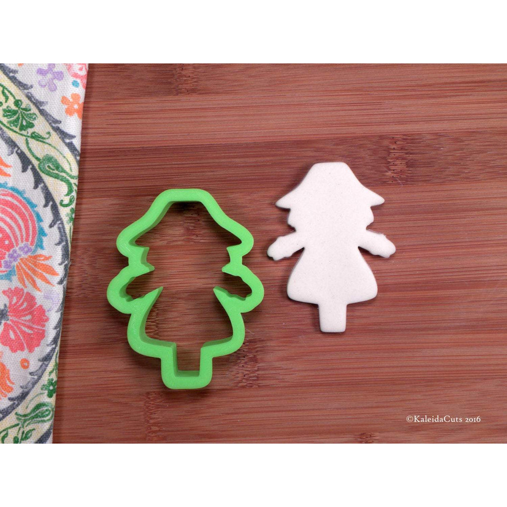Scarecrow Girl Cookie Cutter
