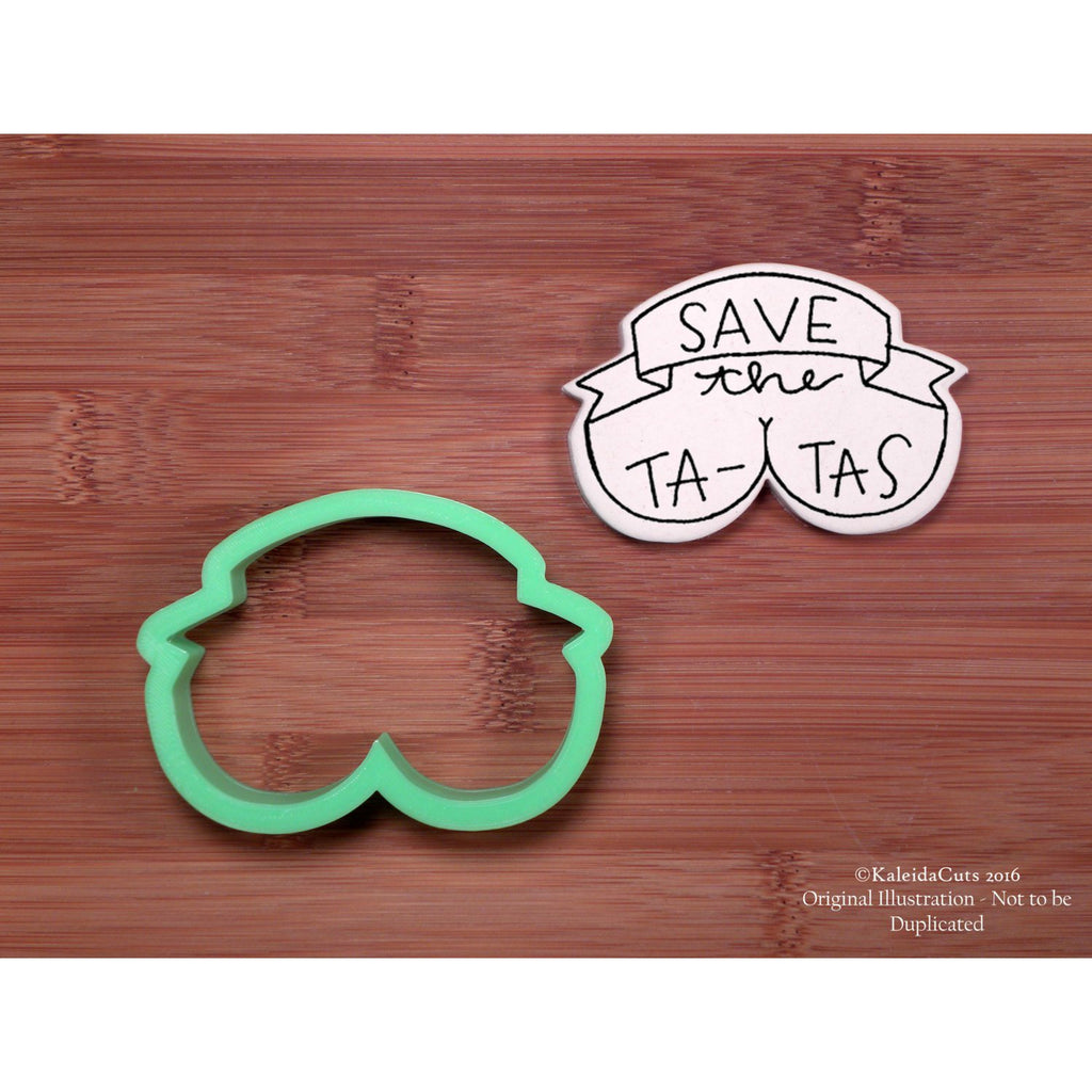 Save the Tatas Cookie Cutter