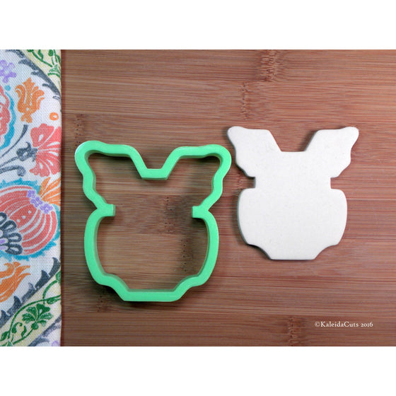 Flutter Romper Cookie Cutter