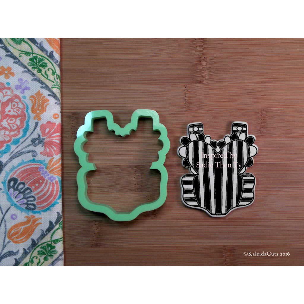 Heart Romper Cookie Cutter