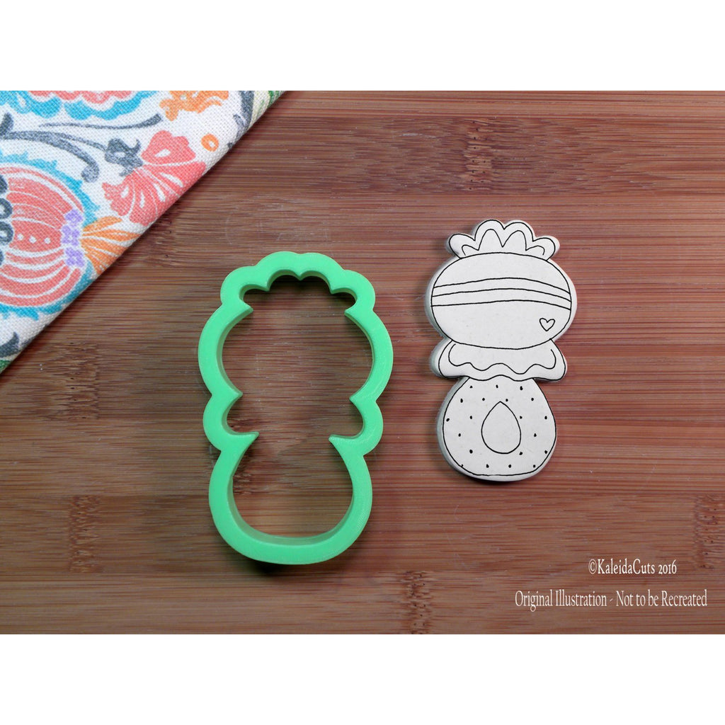 Rattle 1 Cookie Cutter