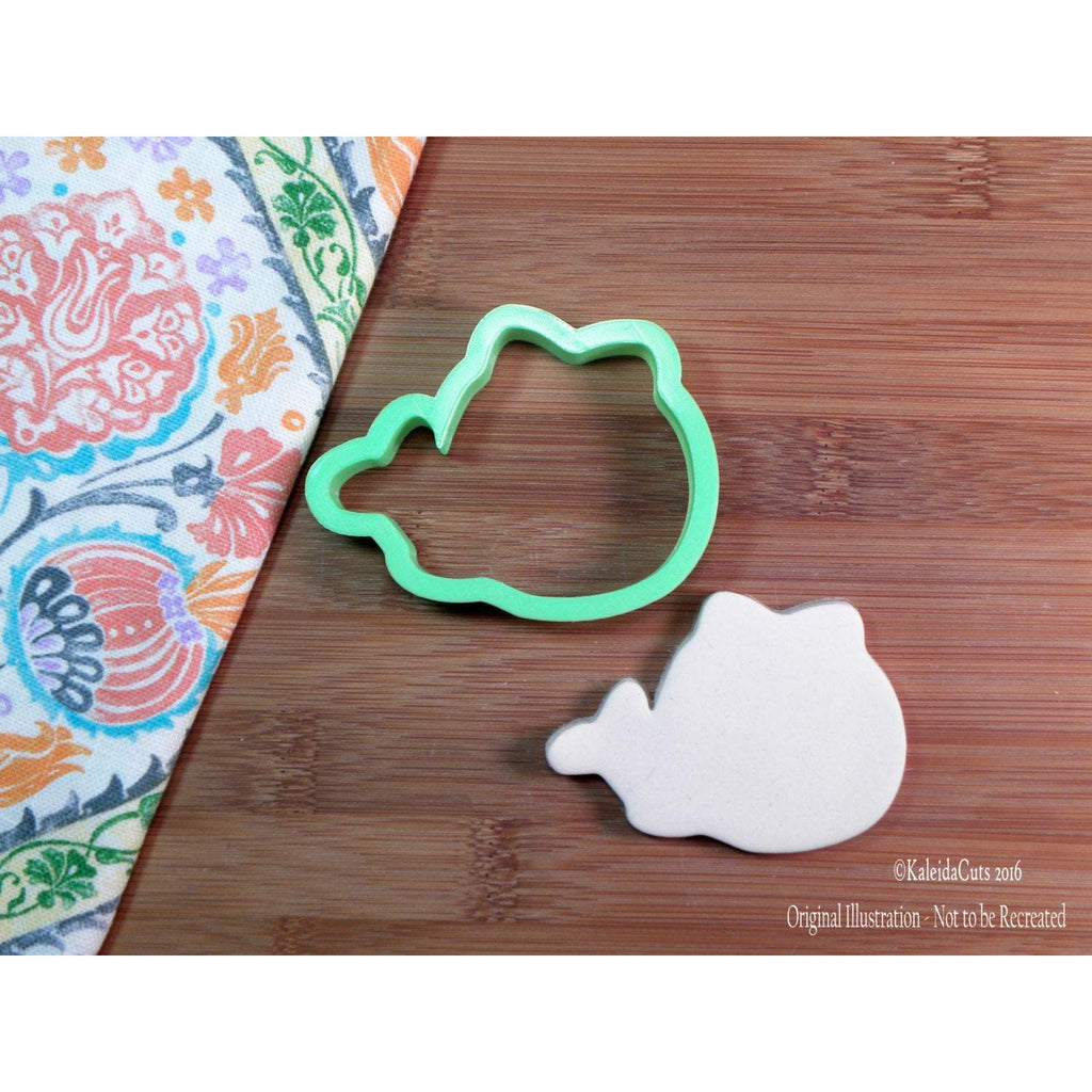 Kawaii Whale with Bow Cookie Cutter