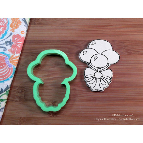 Balloon Bouquet Cookie Cutter