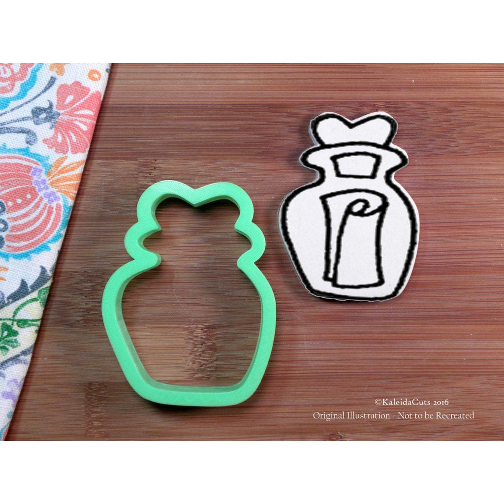 Message in Bottle Cookie Cutter