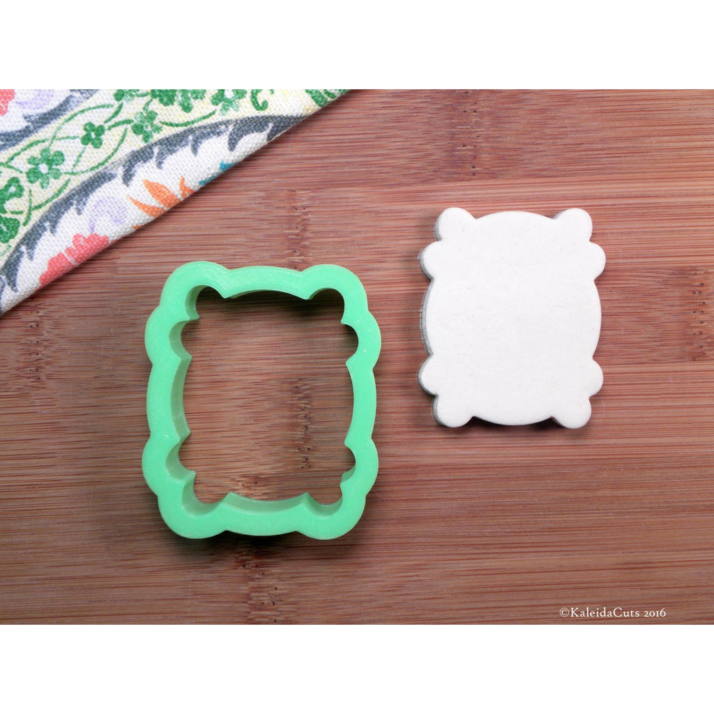 Monica Plaque Cookie Cutter