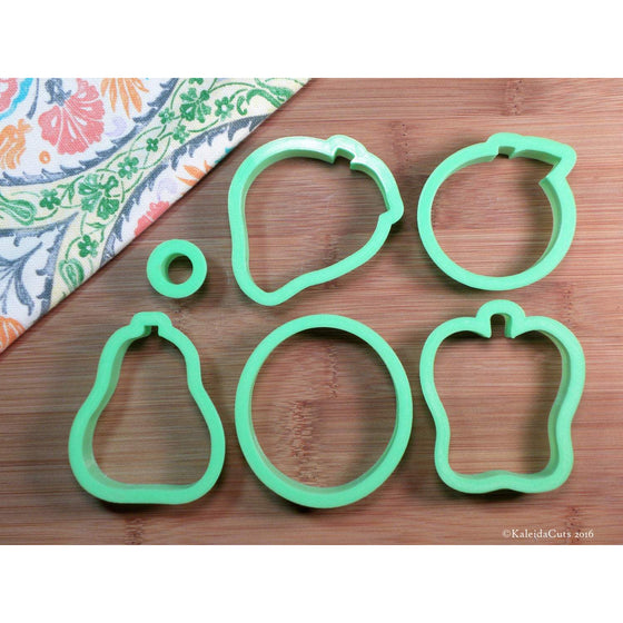 Fruit Set of Cookie Cutters. Hungry Caterpillar Cookie Cutter