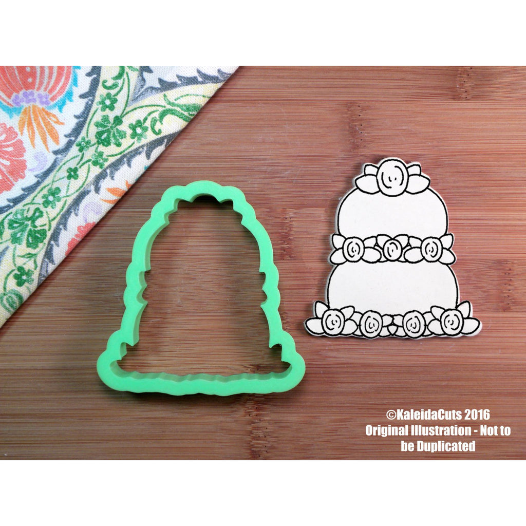 Cadie Wedding Cake Cookie Cutter