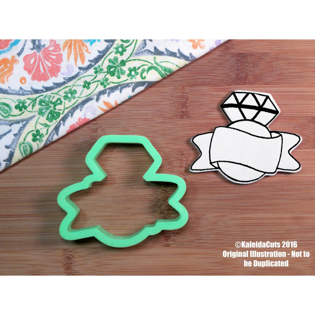Cadie Ring Banner Cookie Cutter