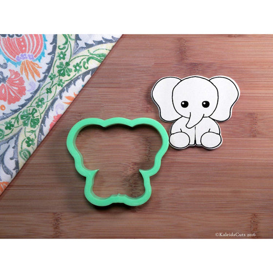 Sitting Elephant Cookie Cutter