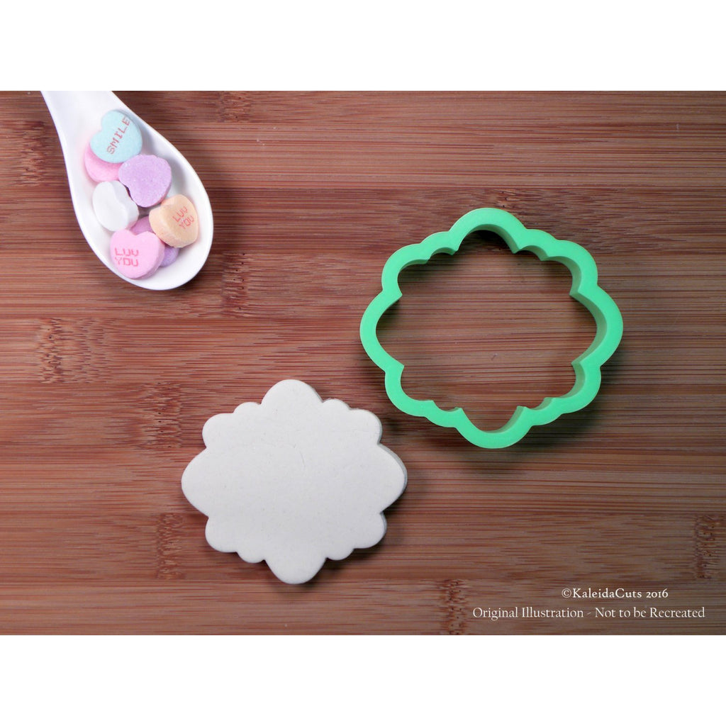 Allie Plaque Cookie Cutter
