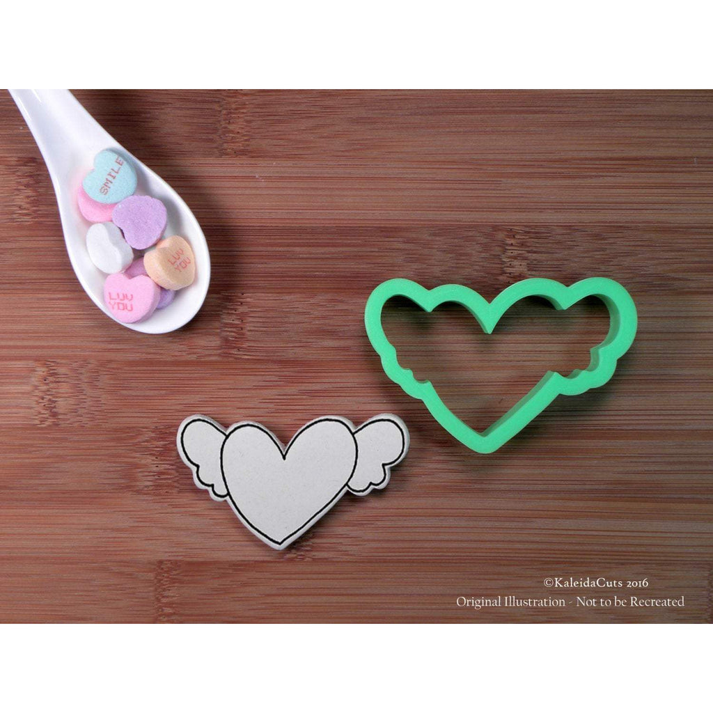 Cupid Heart Cookie Cutter