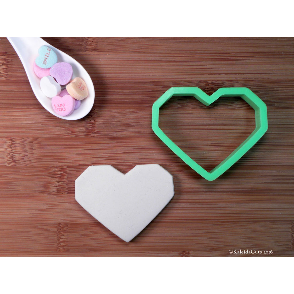 Geo Heart Cookie Cutter