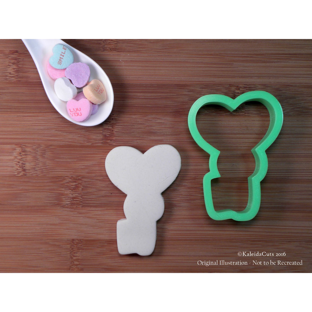 Chubby Heart Key Cookie Cutter