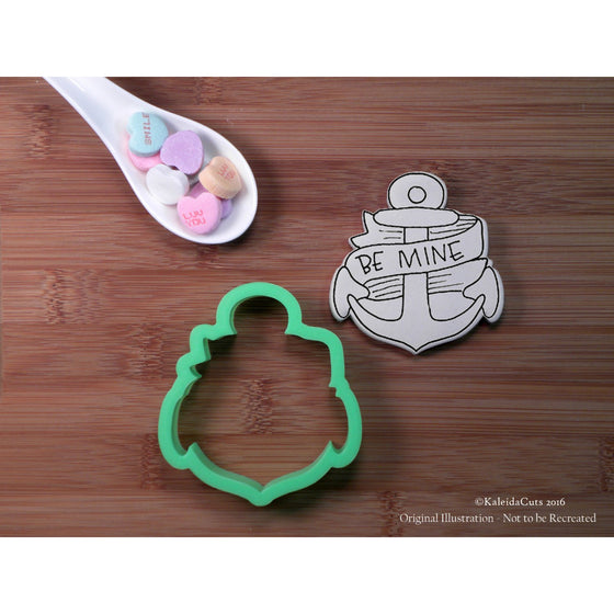 Anchor Banner Cookie Cutter