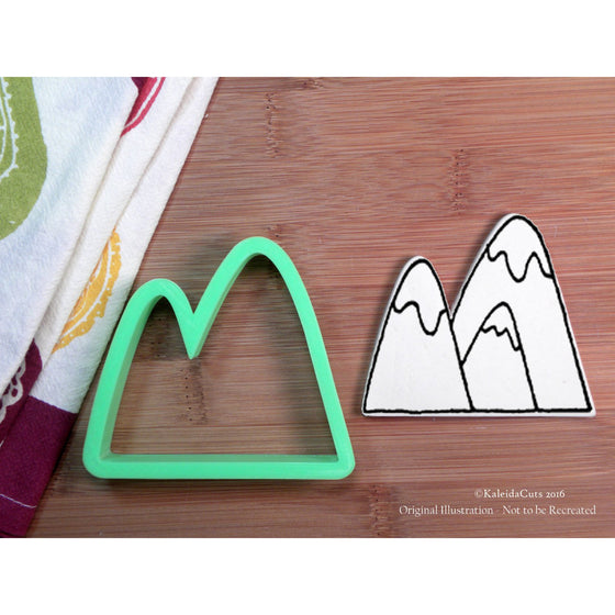 Mountains Cookie Cutter