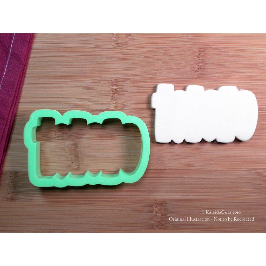 HoHoHo 2 Plaque Cookie Cutter