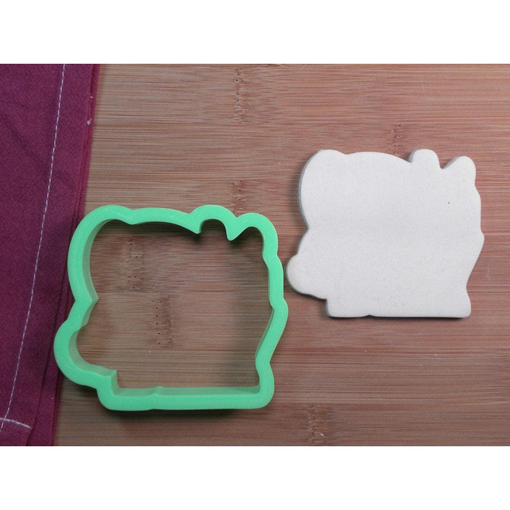Santa Baby Lettering Cookie Cutter