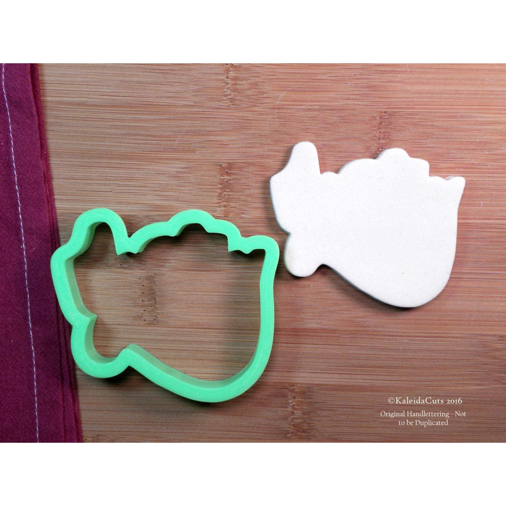 Merry Lettering Cookie Cutter
