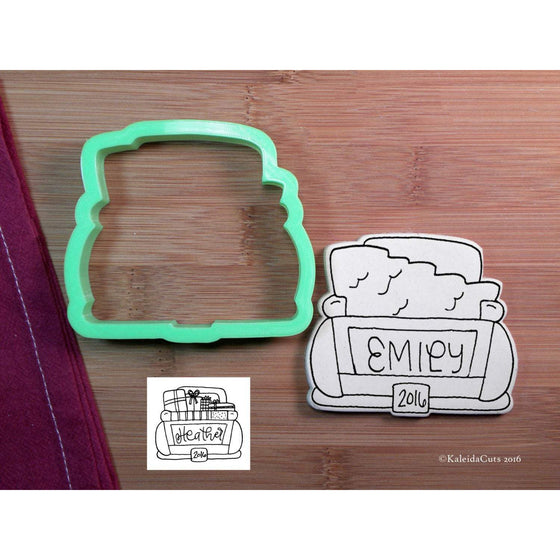 Back of Truck Cookie Cutter